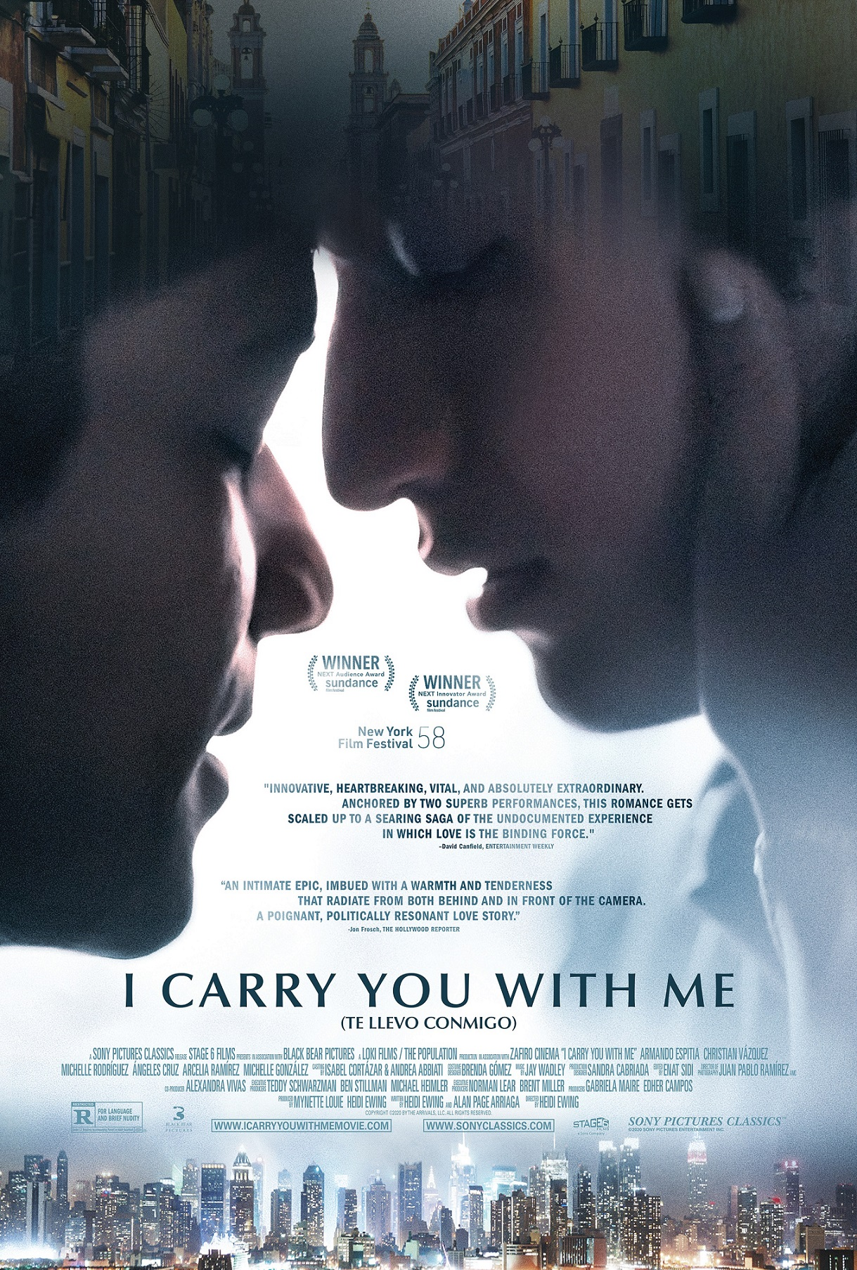 I Carry You with Me (2020)